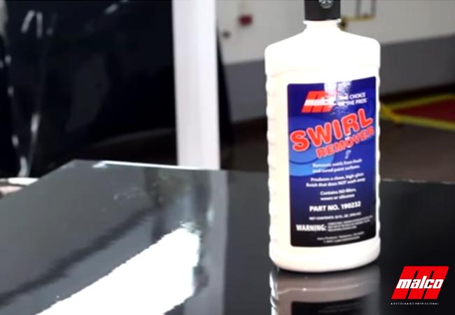 Polimento Profissional, lustro com Swirl Remover