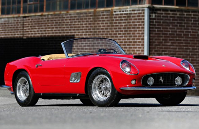 Modelo Ferrari 275 GTB curta Era um encontro