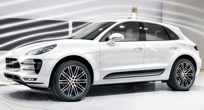 Design externo do Porsche Macan